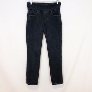Jag Jeans High Rise Straight Leg Pull On 6S